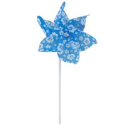 Party Favours - Luau Pinwheel Blue Pk1