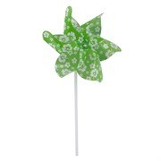 Party Favours - Luau Pinwheel Green Pk1