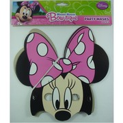 Minnie Mouse Masks Pk 8