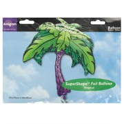 Balloon Foil Supershape Palm Tree Luau Pk1