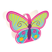 Butterfly Sparkle Treat Boxes Pk 4
