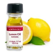 Natural Lemon Oil Flavour (3.7ml) Pk 1