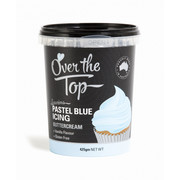 Over The Top Pastel Blue Vanilla Buttercream Icing (425g) Pk 1