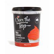 Over The Top Red Vanilla Buttercream Icing (425g) Pk 1
