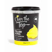 Over The Top Yellow Vanilla Buttercream Icing (425g) Pk 1