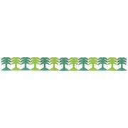 Palm Tree Honeycomb Garland Decoration (3.6m) Pk 1