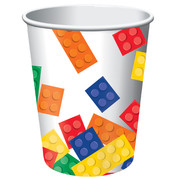 Block Party 9oz Paper Cups Pk 8