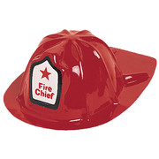 Red Fire Chief Helmet Pk 1