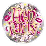 Hen Party Large Badge Pk 1