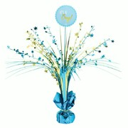 It's A Boy Gold & Blue Centrepiece Weight Pk 1