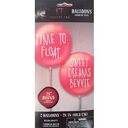 It Chapter Two Red Assorted Design 60cm Latex Balloons Pk 2