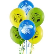 Jurassic World Dinosaur Latex Balloons (30cm) Pk 6