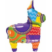 Mexican Burro Foil Supershape Balloon (40in.) Pk 1