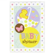 Baby Shower Invitations & Envelopes (Tiny Bundle) Pk 8