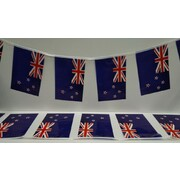 New Zealand Pennant Flag Bunting Banner (4m - 15 Flags) Pk 1