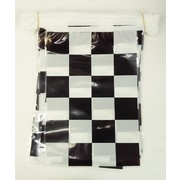 Motor Racing Black & White Check Flags Bunting Banner (10m) Pk 1