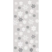 Snowflake Cello Loot Bags Pk 20