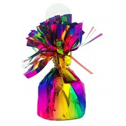 Metallic Rainbow Balloon Weight - Pudding Pk 1