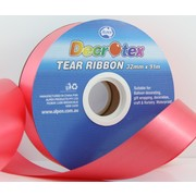 Red Tear Ribbon (32mm x 91m) Pk 1