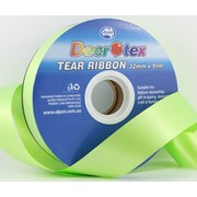 Lime Green Tear Ribbon (32mm x 91m) Pk 1