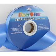 Royal Blue Tear Ribbon (32mm x 91m) Pk 1