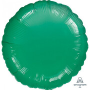 Metallic Green Circle 17in. Standard Foil Balloon Pk 1