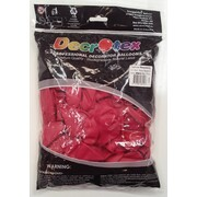 Standard Fashion Raspberry Latex Balloons (12in - 30cm) Pk 100