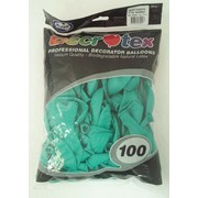 Standard Aquamarine Latex Balloons (12in - 30cm) Pk 100