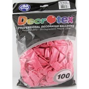 Pearl Light Pink Latex Balloons (12in - 30cm) Pk 100