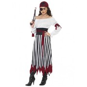 Adult Woman Pirate Lady Costume (Large, 16-18)