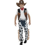Child Texan Cowboy Costume (Medium, 7-9 Years)