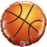 Basketball 18in. Foil Balloon Pk 1
