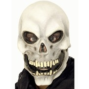 Halloween Full Head Skull Latex Mask Pk 1