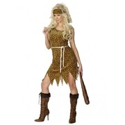 Adult Cavewoman Costume (Medium, 12-14)