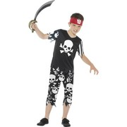 Child Rotten Pirate Boy Costume (Medium, 7-9 Years)