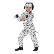 Child Dalmatian Dog One Piece Suit Costume (Large, 10-12 Years)