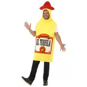 Adult Mexican Fiesta Tequila Bottle Costume (One Size)