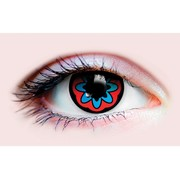 Primal Costume Contact Lenses - Santa Muerte 2 (1 Pair)