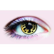 Primal Costume Contact Lenses - Steampunk (1 Pair)