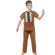 Child Native American Indian Warrior Costume (Medium, 7-9 Years)