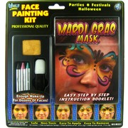 Face Paint Kit (Mardi Gras) Pk 1