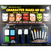 Bright Face Paint Kit with Paint and Crayons Pk 1