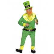 Adult St. Patrick's Day Leprechaun Costume (One Size)