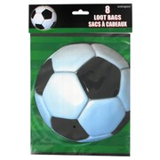 Soccer Party Loot Bags - Soccer Ball Pk8