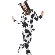 Cow One Piece Suit Child Costume (Medium, 7-9 Years) Pk 1