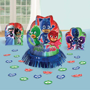 PJ Masks Table Decorating Kit (3 Centrepieces & Confetti)