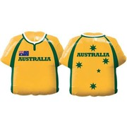 Australia Jersey Foil Supershape Balloon (22in.) Pk 1 (1 BALLOON ONLY)