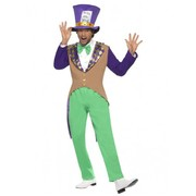 Adult Male Mad Hatter Costume (Medium, 38-40)