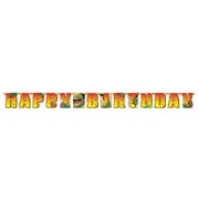 Dinosaur Party Banner - Jointed Birthday 2.2m Dino Blast Pk1