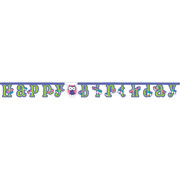 Owl Pal Birthday Jointed Banner (2.2m) Pk 1